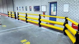 Traffic Double Rail Plus iFlex Barrier